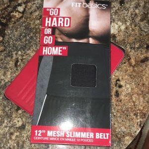 """Accessories - 12""""Mesh slimmer belt"""